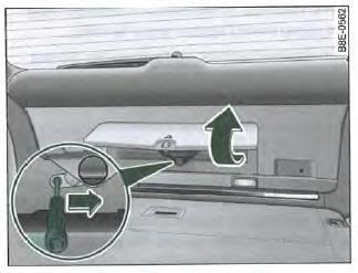 ouvrir voiture avec cintre